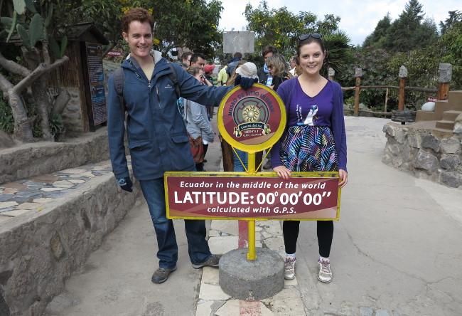 Equator Ecuador Double-Barrelled Travel