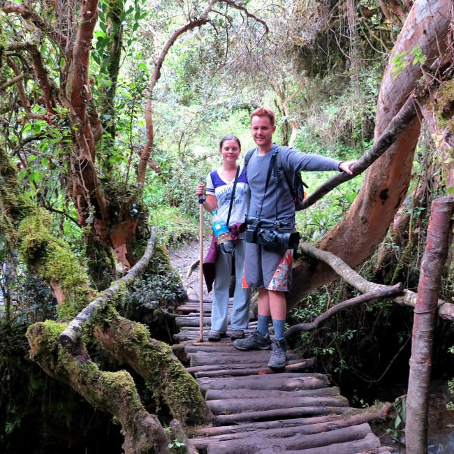 Hiking the Inca Trail Double-Barrelled Travel