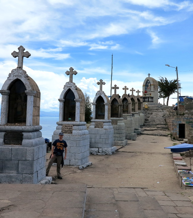 Stations of the cross Copacabana Bolivia Double-Barrelled Travel