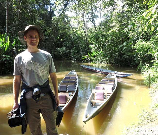 Canoes Ecuador Amazon Double-Barrelled Travel