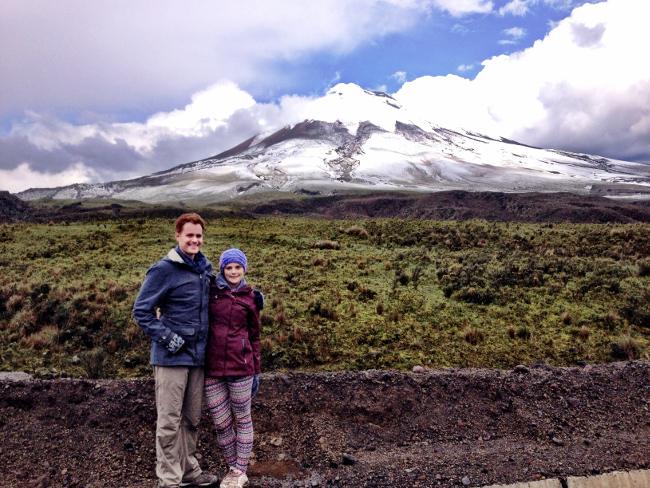 Cotapaxi Ecuador Double-Barrelled Travel