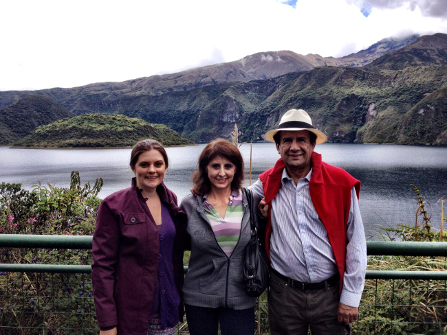 Cuicocha Lake Ecuador Double-Barrelled Travel