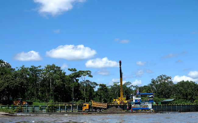 Oil exploitation Ecuador Amazon Double-Barrelled Travel