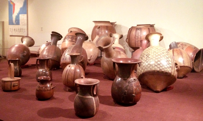 Pottery Inca Museum Cusco Double-Barrelled Travel