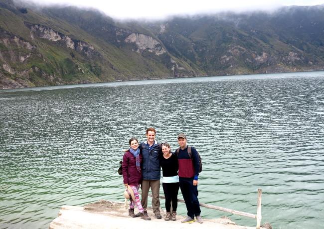 Quilotoa lake Ecuador Double-Barrelled Travel