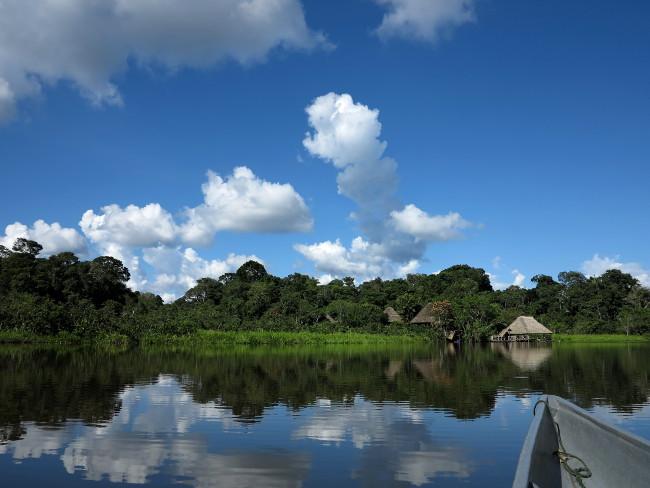 Sani Lodge lake Double-Barrelled Travel