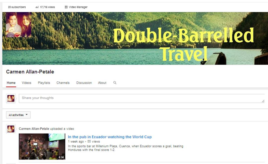Double-Barrelled Travel YouTube