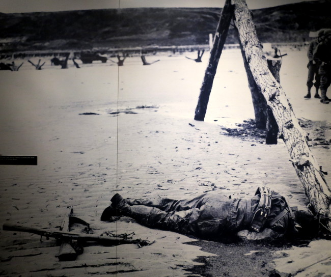 Death image in the National World War II Museum Double-Barrelled Travel