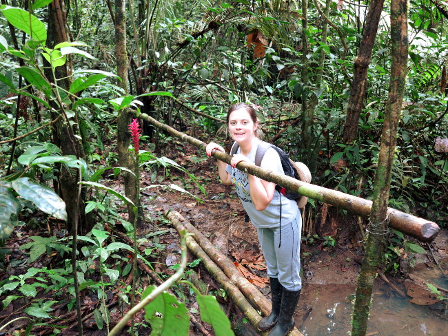 Hiking in the Ecuador Amazon Double-Barrelled Travel
