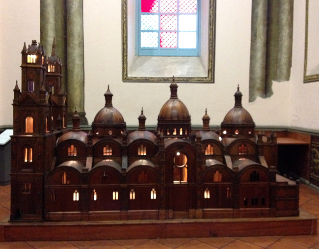 New Cathedral Cuenca model