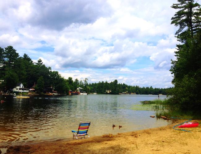 New Hampshire lake Double-Barrelled Travel