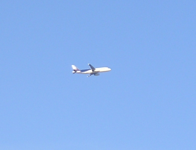 Plane in the sky Double-Barrelled Travel