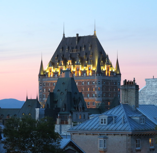 Quebec City Double-Barrelled Travel