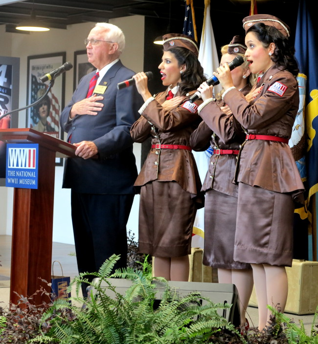 Singers in the National World War II Museum Double-Barrelled Travel