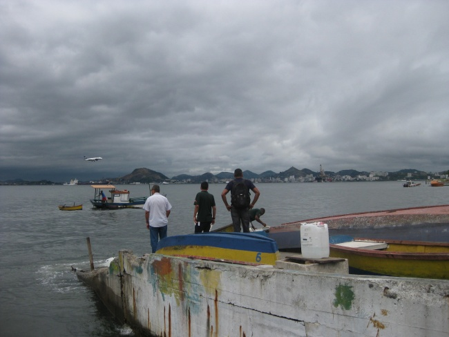 Bahía de Guanabara Brazil Double-Barrelled Travel