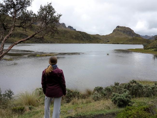 Cajas National Park Ecuador lake view