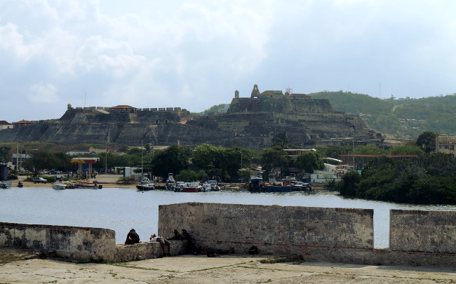 Cartagena fort Double-Barrelled Travel