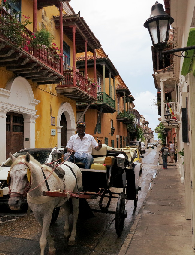 Cartagena horse and cart2 Double-Barrelled Travel
