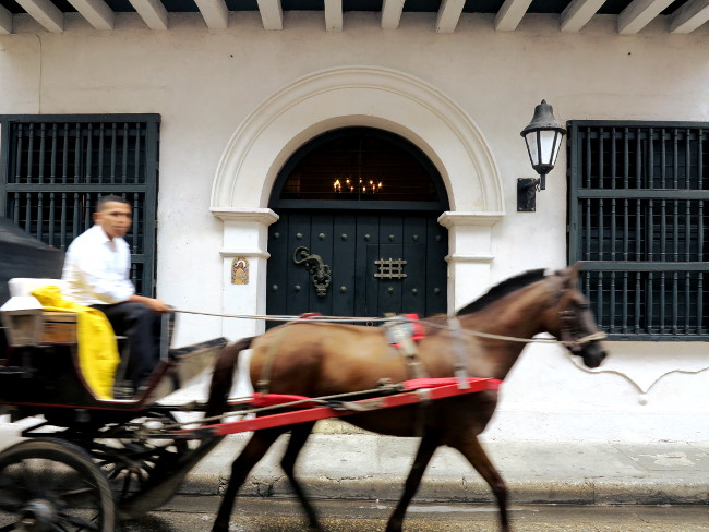 Cartagena horse and cart3 Double-Barrelled Travel