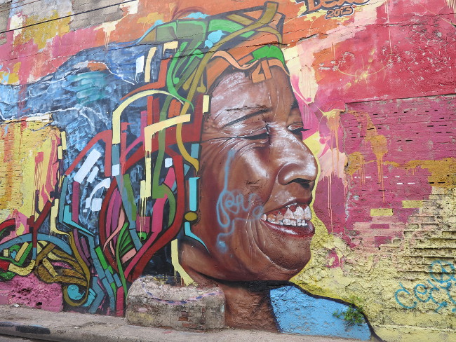 Cartagena street art 2 Double-Barrelled Travel