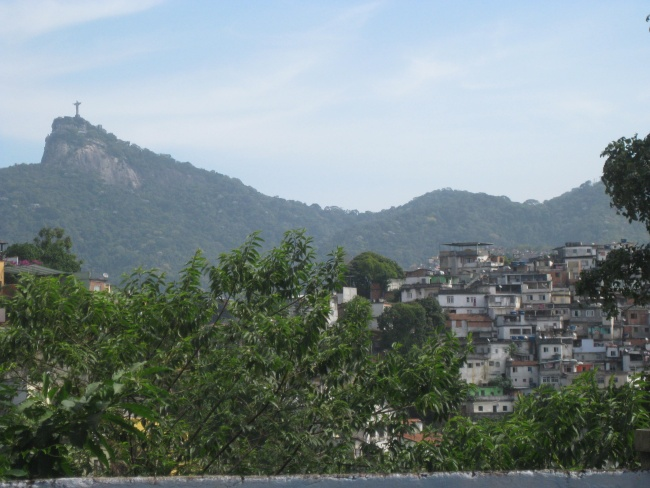 Favela and Cristo Redentor Brazil Double-Barrelled Travel