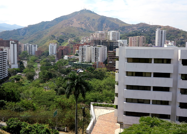 Wealthy neighbourhood Cali Colombia Double-Barrelled Travel