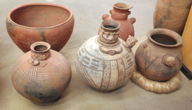aboriginal art museum pots Cuenca Double-Barrelled Travel