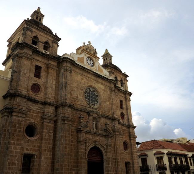 church in Cartagena Double-Barrelled Travel