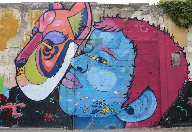 street art 2 Cartagena Double-Barrelled Travel