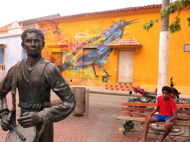 street art 3 Cartagena Double-Barrelled Travel