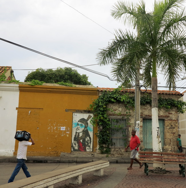 street life Cartagena Double-Barrelled Travel