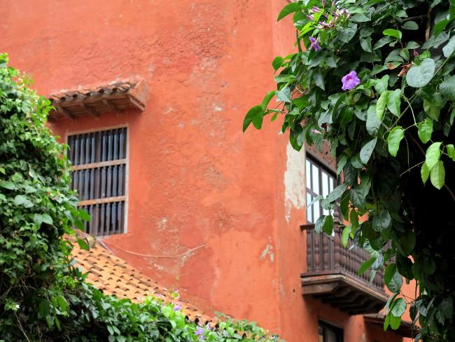 window into Cartagena Double-Barrelled Travel