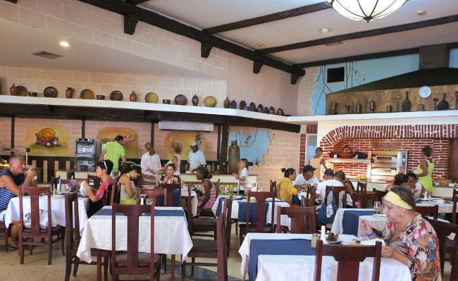 Belive Resort  dining hall cuba Double-Barrelled Travel