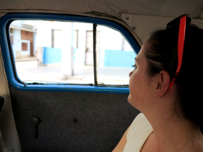 Car ride Cuba Double-Barrelled Travel
