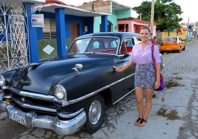 Cuba classic car Chrysler Windsor
