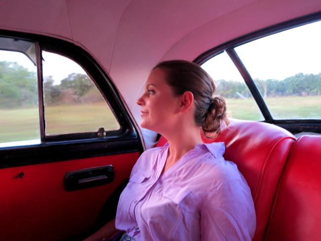Cuba classic car interior Double-Barrelled Travel