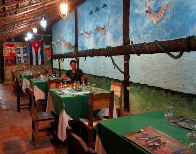 Cuba restaurant Double-Barrelled Travel