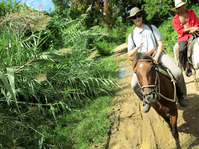 Horse riding Cuba Double-Barrelled Travel