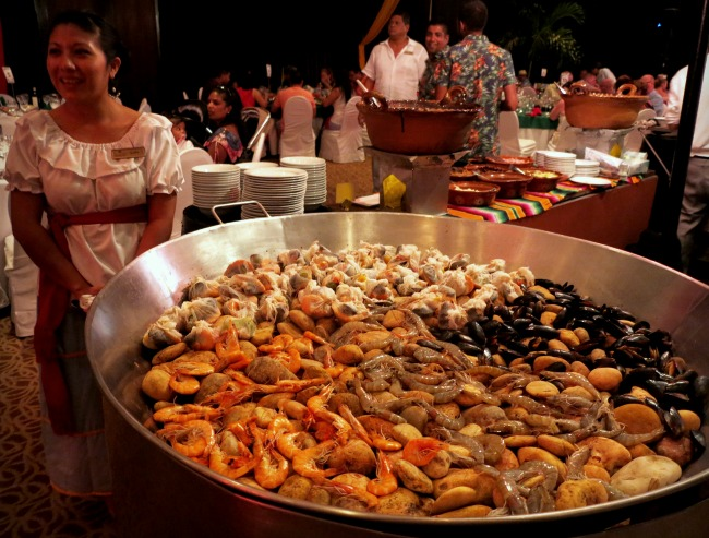 Paella at Dreams Riviera Cancun Double-Barrelled Travel