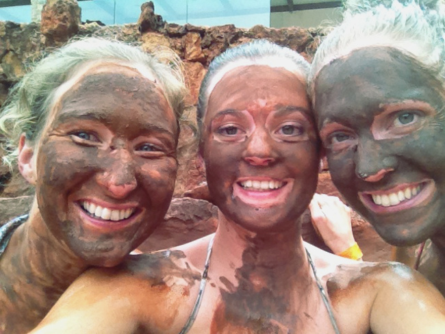 Piedra de Agua Banos Ecuador mud mask - Double-Barrelled Travel
