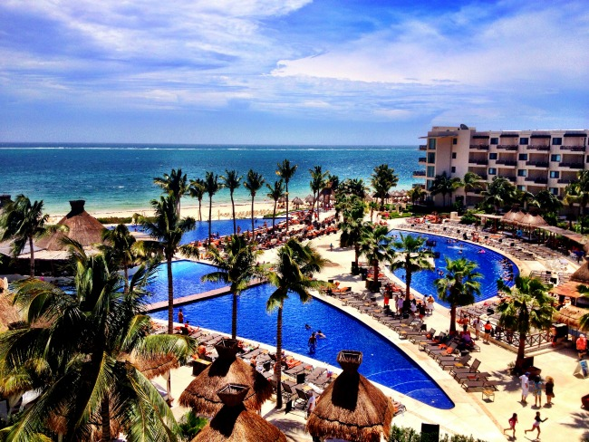 Pools at Dreams Riviera Cancun Double-Barrelled Travel