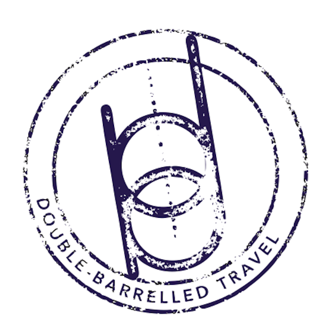 Double-Barrelled Travel square logo