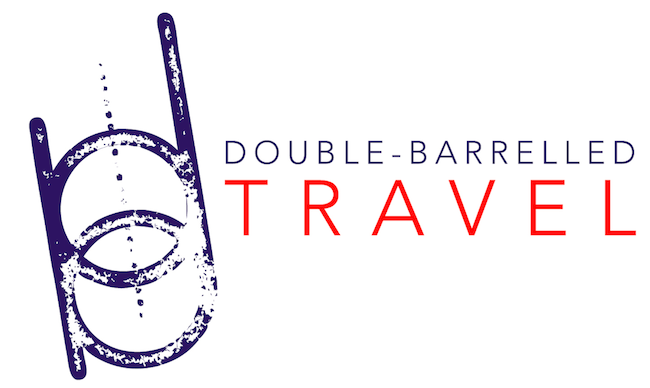 Double-Barrelled Travel new logo