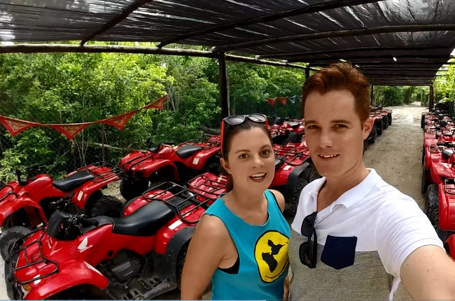 ATV Cozumel Double-Barrelled Travel