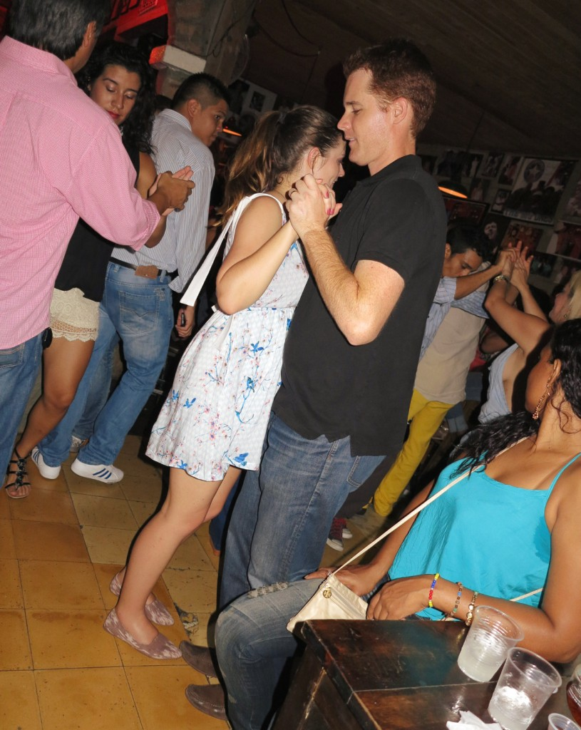 Carmen and Dave salsa club Double-Barrelled Travel