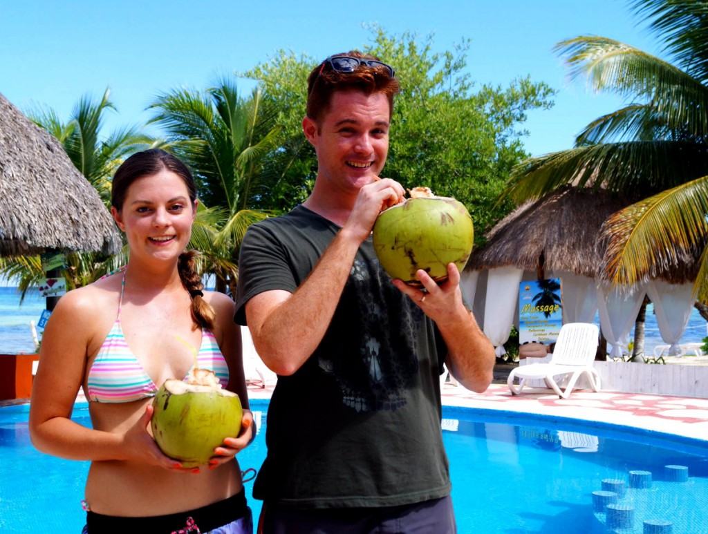 Coconuts Cozumel Double-Barrelled Travel