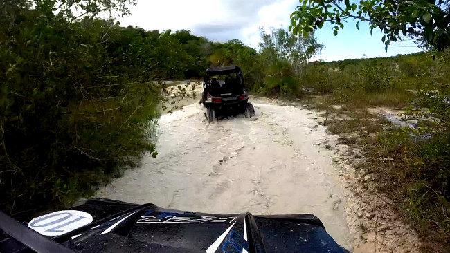 Polaris Cozumel Double-Barrelled Travel