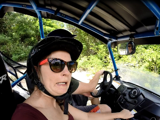 Polaris tour Cozumel Double-Barrelled Travel