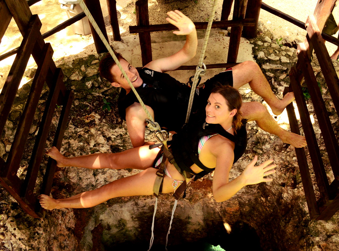 Rapelling Alltournative Maya Jungle Double-Barrelled Travel