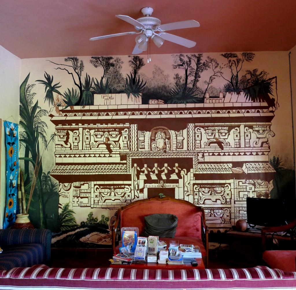 Reception area Casa Hamaca Double-Barrelled Travel
